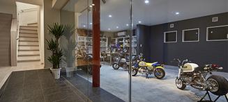 バイクインナーガレージ